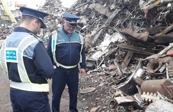 Tânăr prins la furat de fier vechi în incinta unei foste mine din Valea Jiului