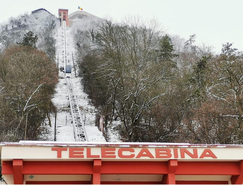 Telecabina de la Cetatea Devei repornește mâine