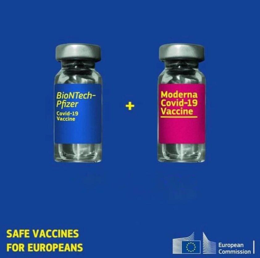 Vaccinul Moderna va fi administrat din 1 februarie în centrele de vaccinare