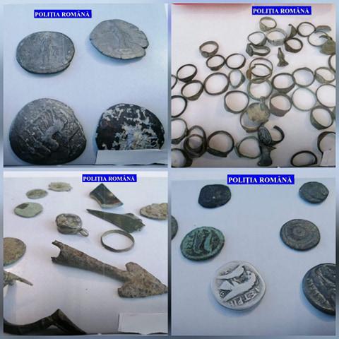 Hunedorean, acuzat de braconaj arheologic. Zeci de obiecte din perioada romană și epoca bronzului, descoperite în urma perchezițiilor