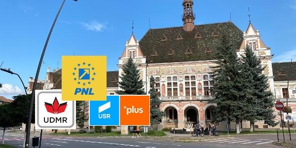 La Hunedoara, prefectul rămâne reprezentant al PNL, iar subprefecții vor fi de la UDMR și USR-PLUS