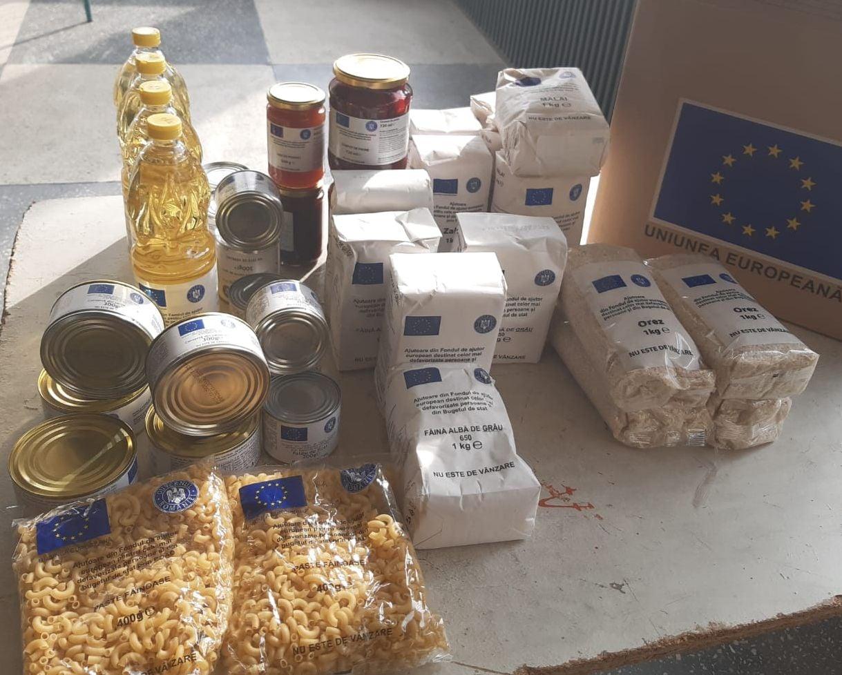 Luni începe distribuirea produselor alimentare, tranșa a doua pe listele suplimentare