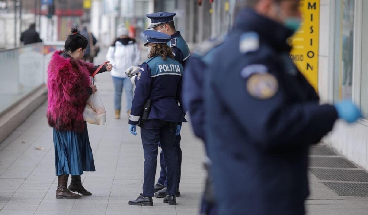 Sancțiuni pe bandă-rulantă, pentru lipsa măștii de protecție facială