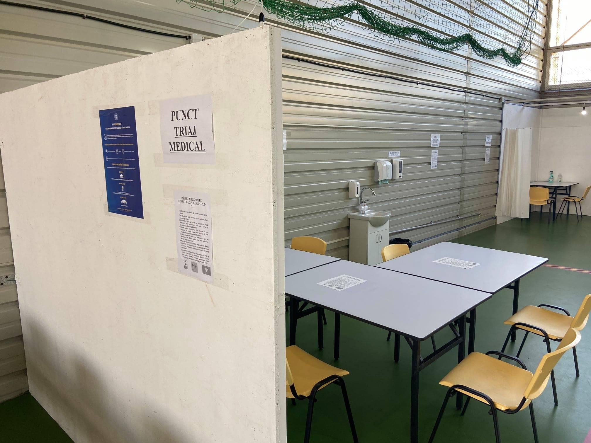 Centrul de vaccinare anti -COVID-19 de la Ilia, pregătit. Acesta va deveni operaţional din 13 aprilie