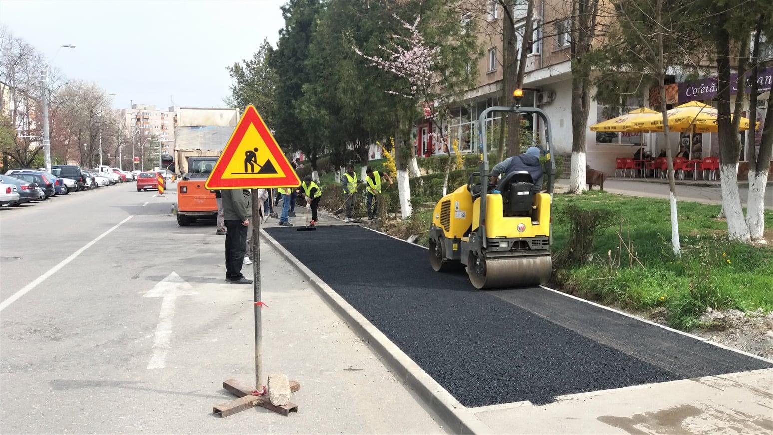 40 de locuri noi de parcare în Hunedoara