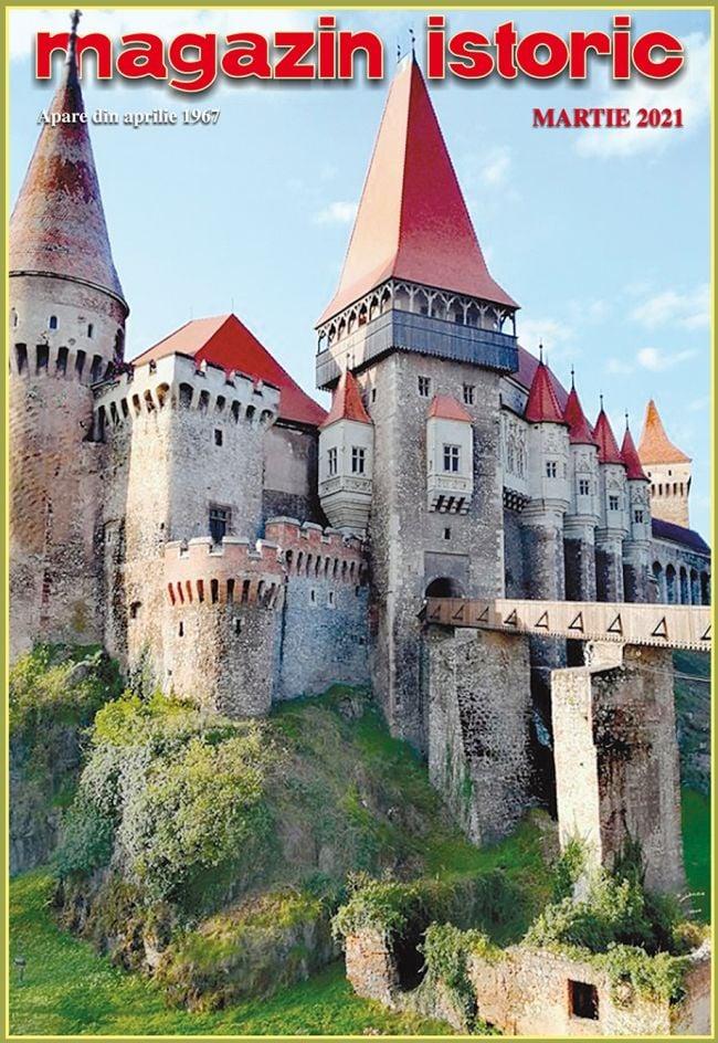 Castelul Corvinilor, pe coperta unei reviste de cultură istorică