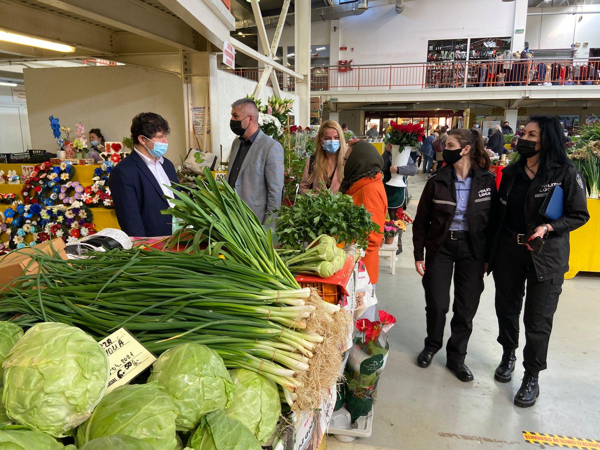 Instituţia Prefectului: Verificări în piaţa centrală agroalimentară din Deva