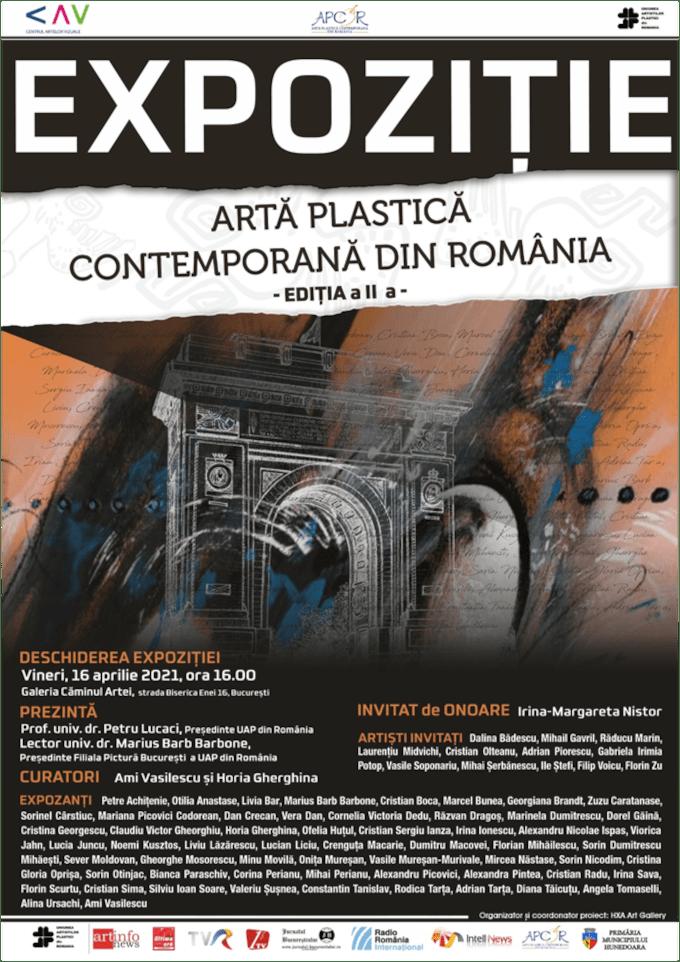 Expoziția itinerantă de artă plastică, ce a pornit de la Castelul Corvinilor, își continuă periplul prin țară