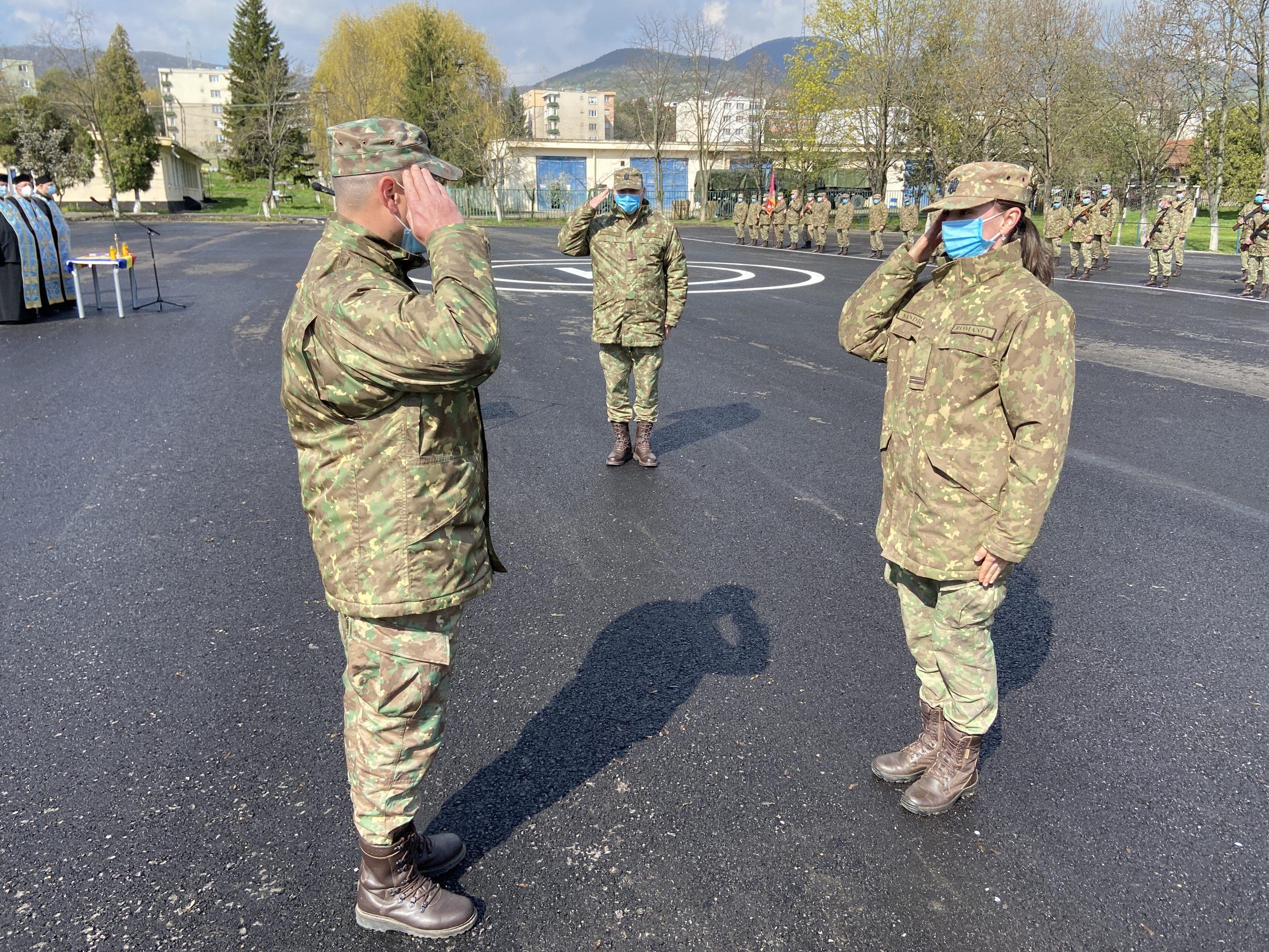 Ziua Forțelor Terestre din România, marcată și la Deva
