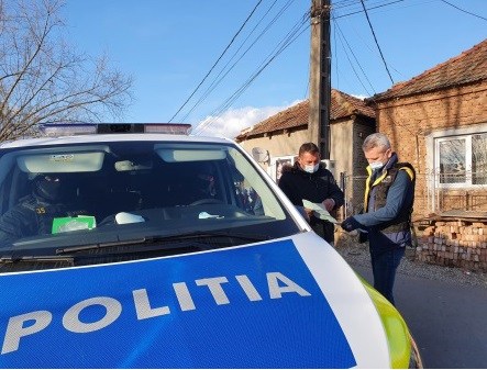 IPJ Hunedoara: 14 sancțiuni contravenționale pentru nerespectarea măsurilor anti-COVID-19, aplicate în ultimele 24 de ore