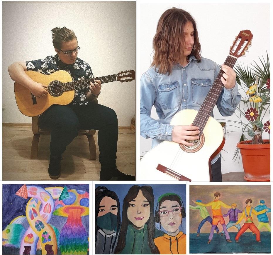 """Elevi de la Liceul de Arte """"Sigismund Toduță"""" din Deva, premiați la Concursul """"Giroc Music Art"""""""