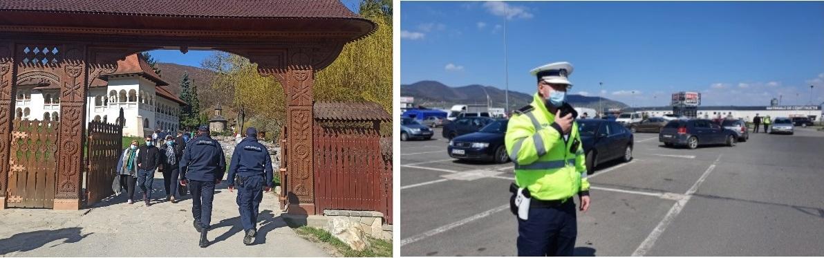 Peste 600 de polițiști și jandarmi hunedoreni vor asigura ordinea publică, de Paște