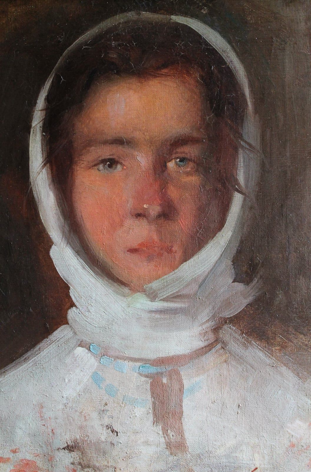 """""""Portret de femeie"""", una din piesele reprezentative ale Muzeului Civilizației Dacice și Romane Deva"""