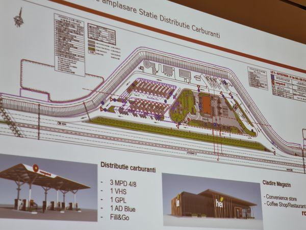 Patru noi spații de servicii moderne pe A1, între Orăștie și Ilia