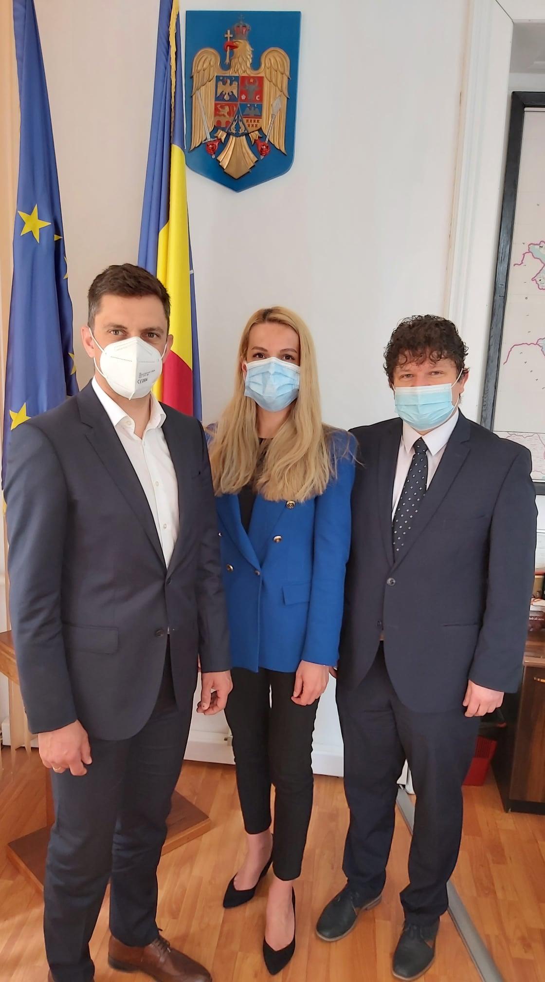 Ministrul Tineretului și Sportului, în vizită de lucru în județul Hunedoara