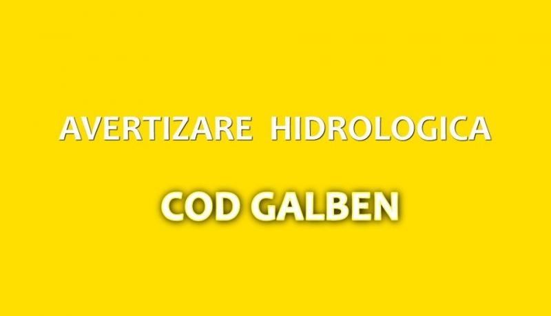 Atenționare Cod galben de viituri și depășiri ale cotelor pe mai multe râuri din țară și din județ