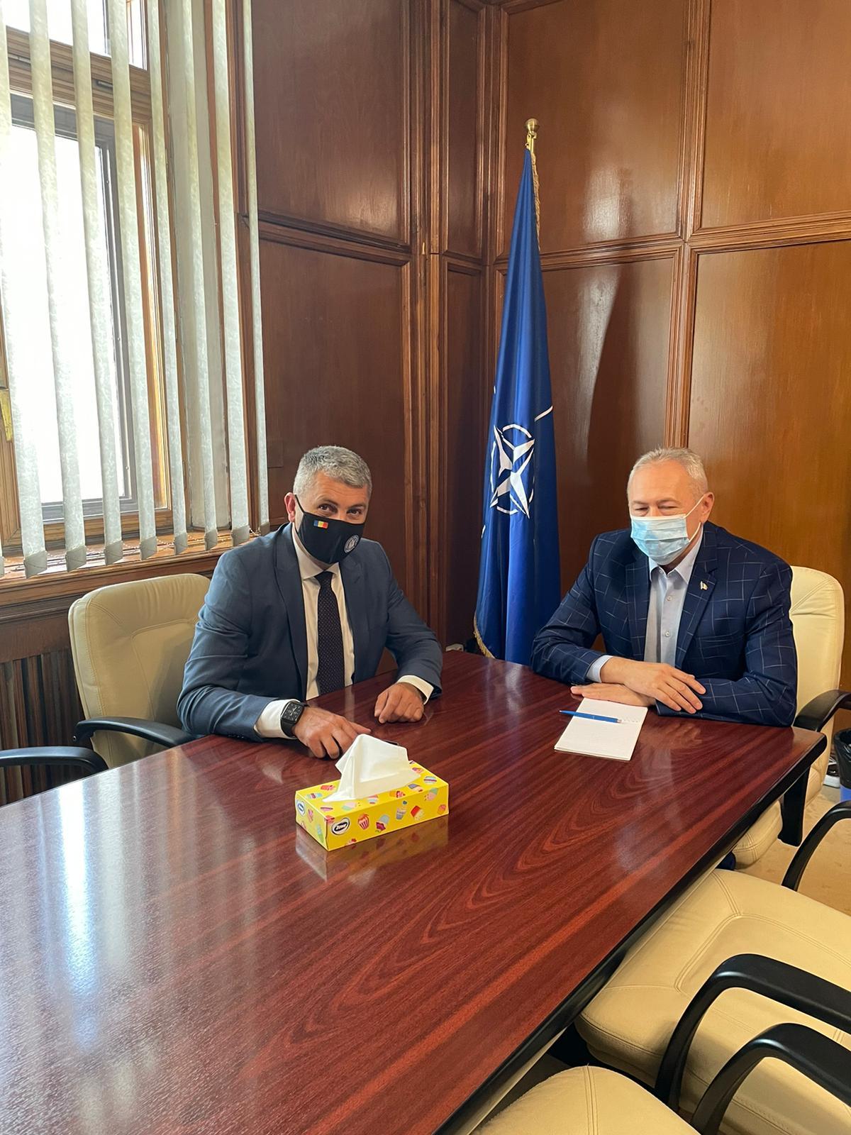 Prefectul județului Hunedoara – întâlnire de lucru la Ministerul Finanțelor