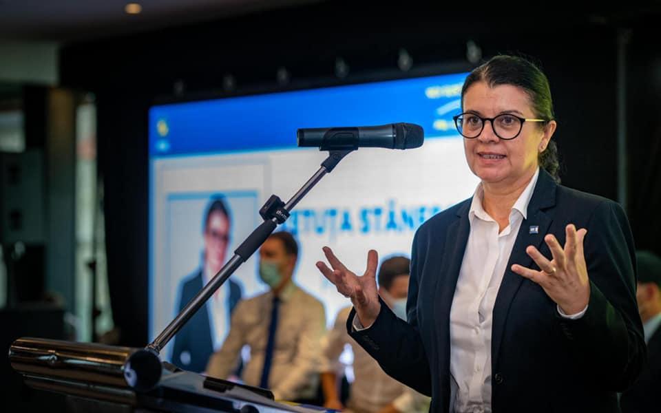 Deputatul Vetuța Stănescu, aleasă în funcția de președinte al PNL Hunedoara