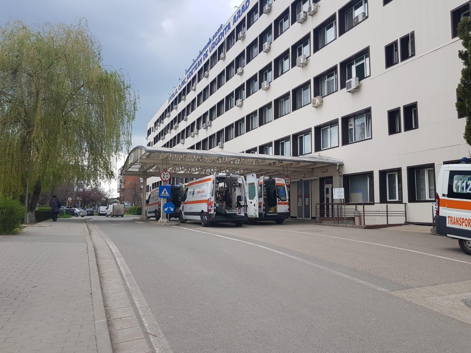 Hunedorean transferat la Spitalul Clinic Județean de Urgență din Arad, după ce a fost mușcat de o vulpe