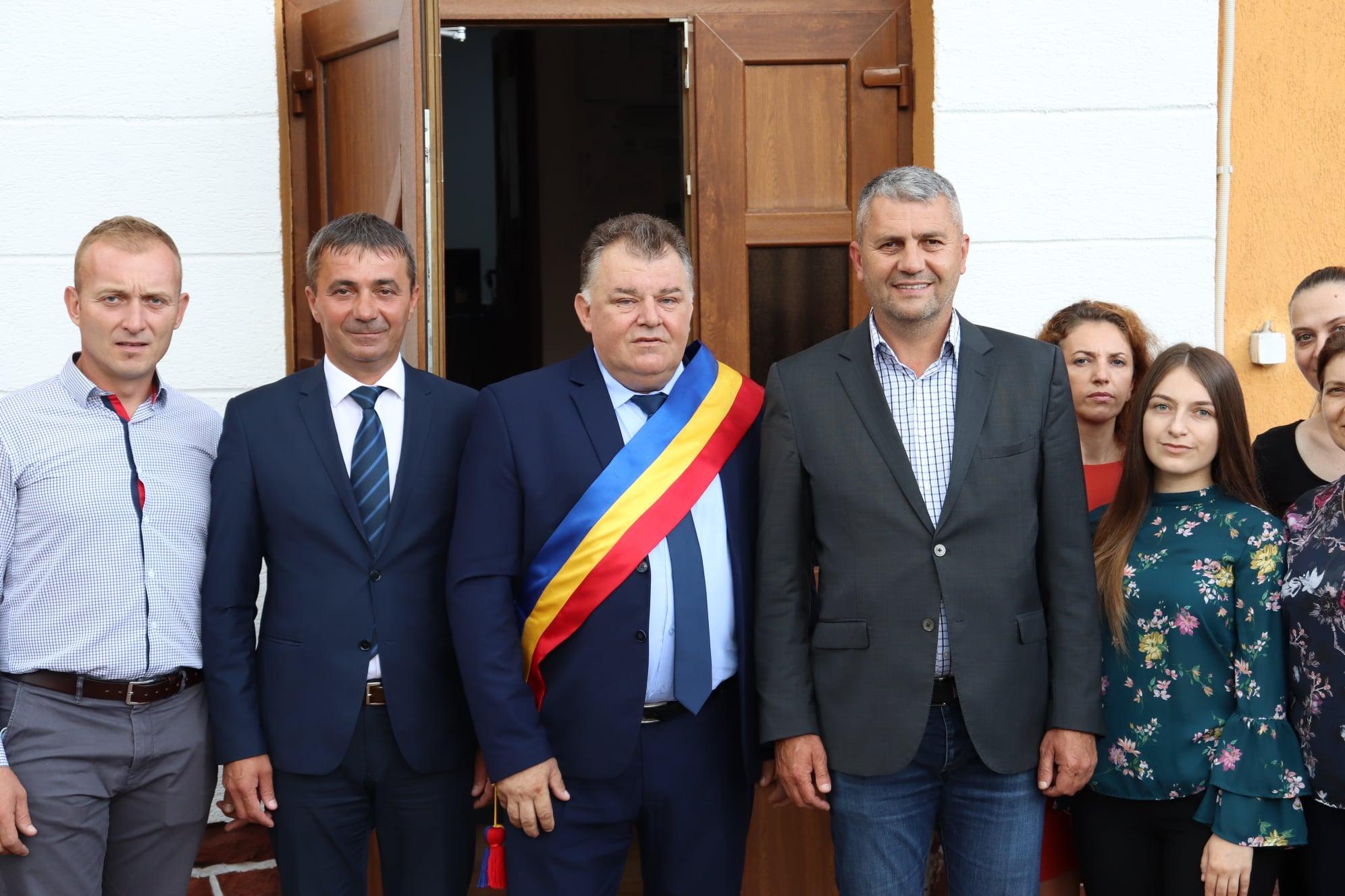 Primarul comunei Sarmizegetusa, Dorin Leontin Hibais, a depus jurământul de învestitură