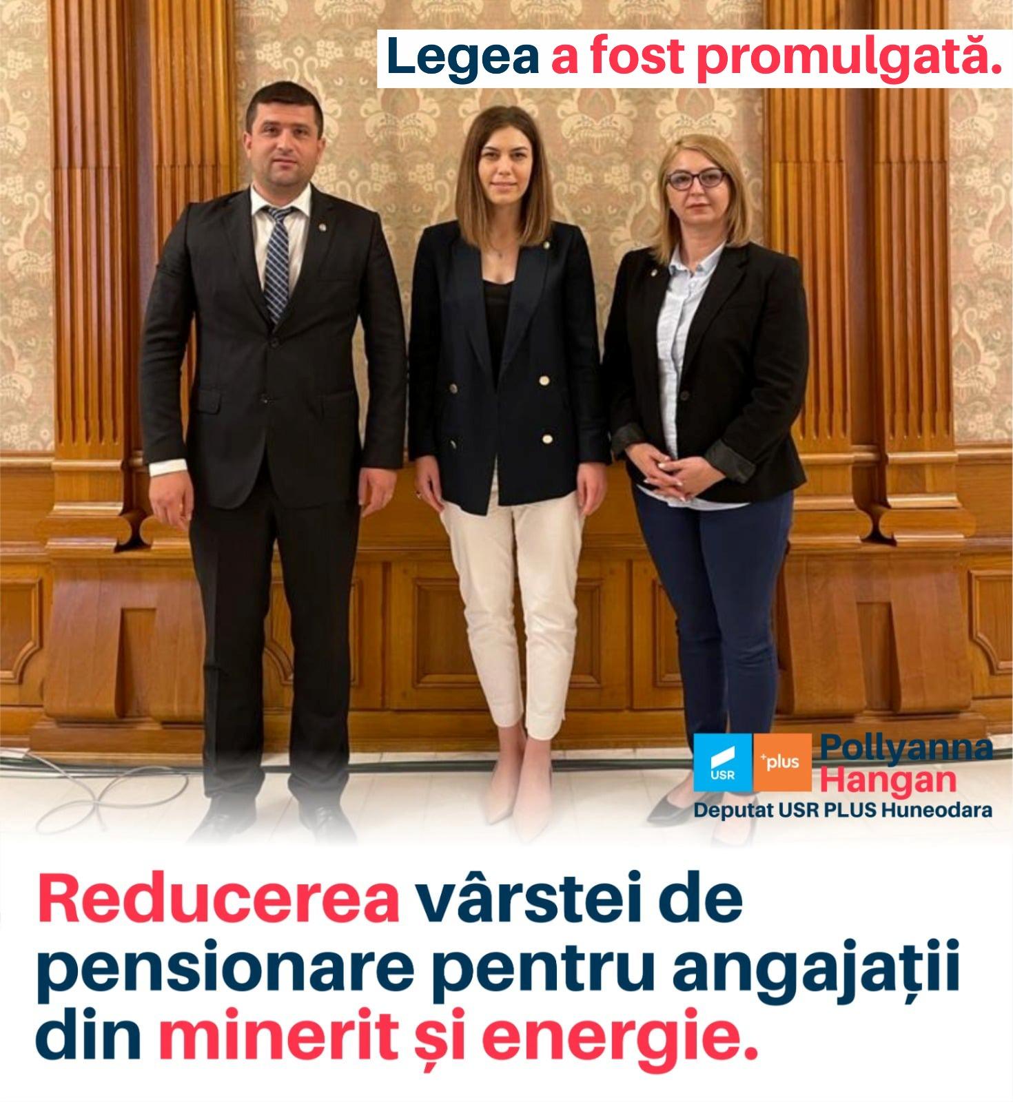 USR a luptat pentru energeticienii hunedoreni: a fost promulgată pensionarea anticipată