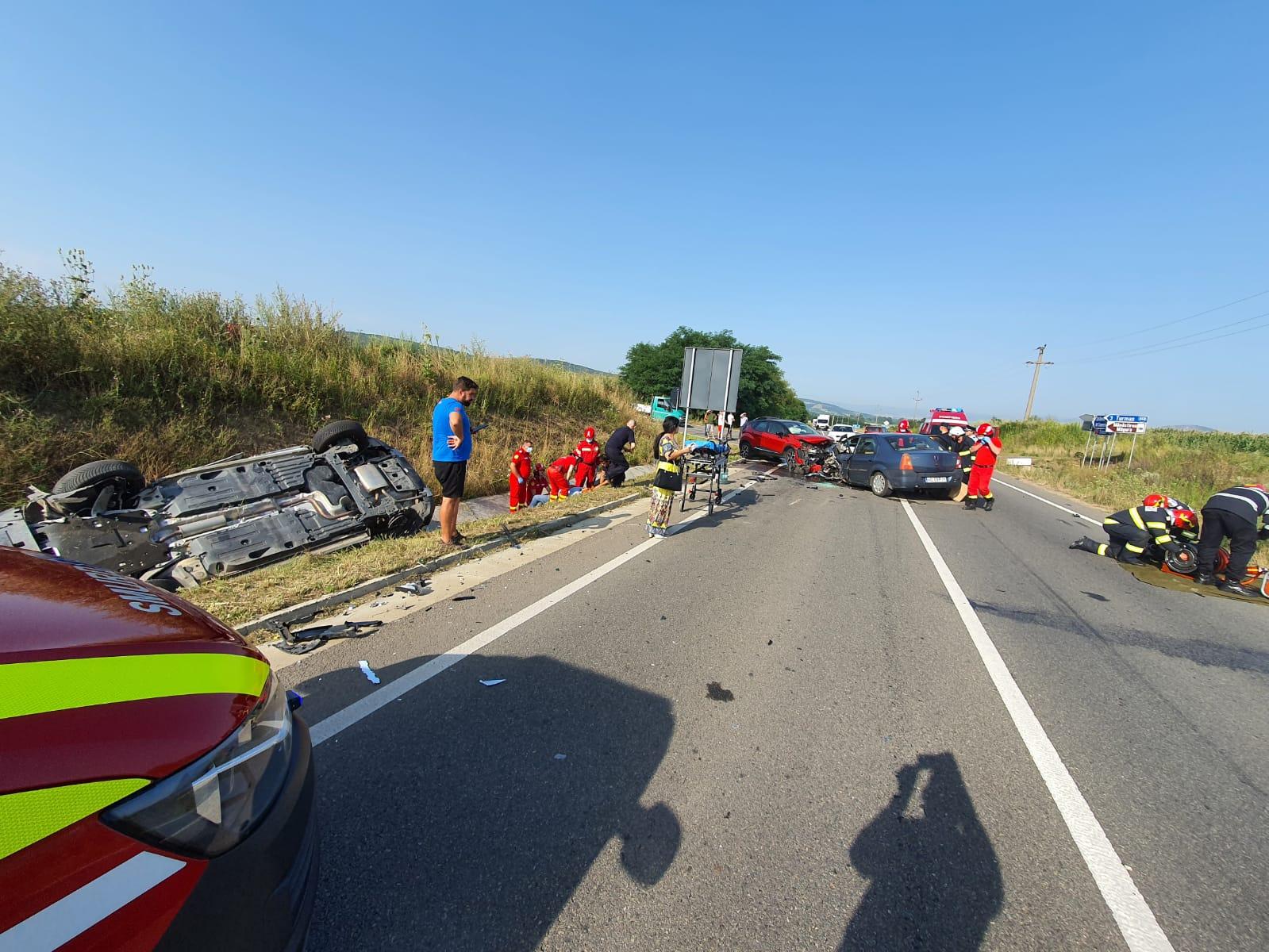 Grav accident rutier, produs în zona Turmaș, soldat cu trei victime
