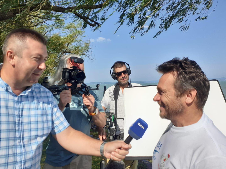 Înotătorul Avram Iancu se întoarce, în august, la Balaton, pentru a relua cursa