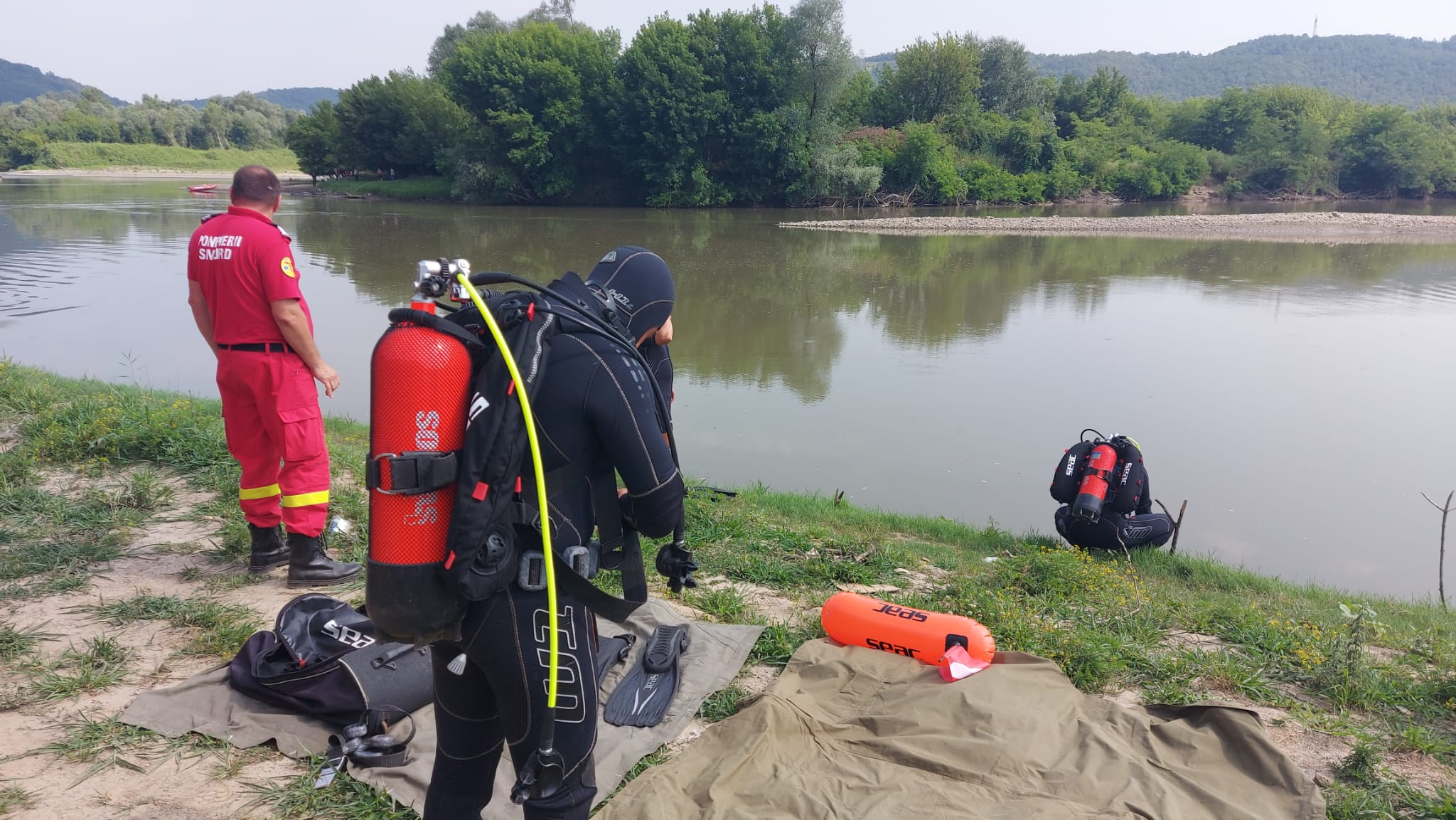 Bărbatul, din comuna Burjuc, dat dispărut, a fost găsit înecat în Mureș