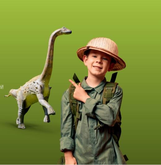 """Începe """"Festivalul Dinozaurilor 2021"""". Evenimentul, """"mutat"""", duminică, la Deva, unde va fi și macheta celebrului Magyarosaurus dacus"""