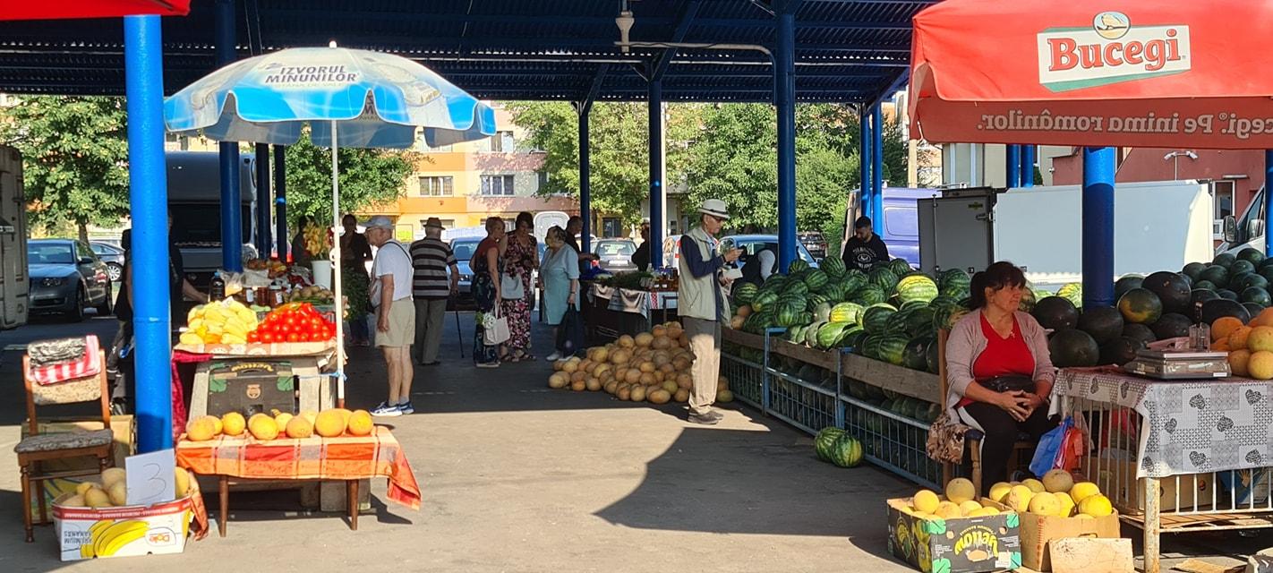 Piața Dunărea devine piață volantă