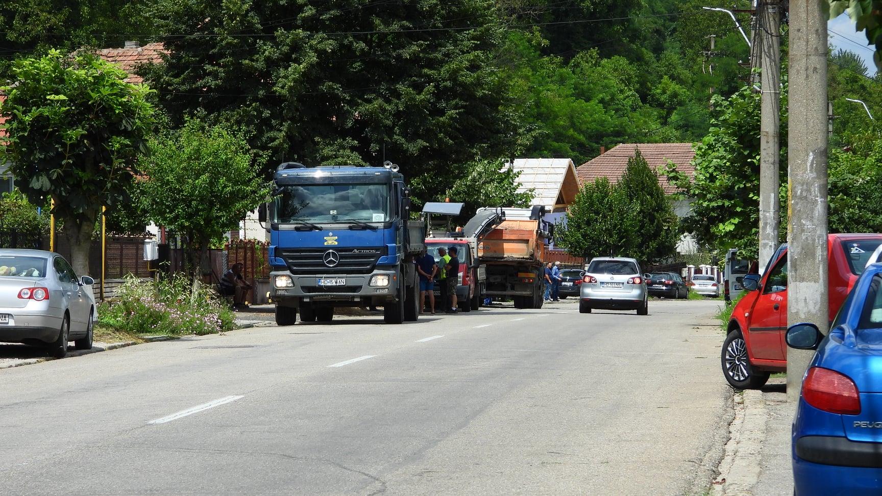 Au început lucrările de reparație generală a străzii Horea, din municipiul Deva