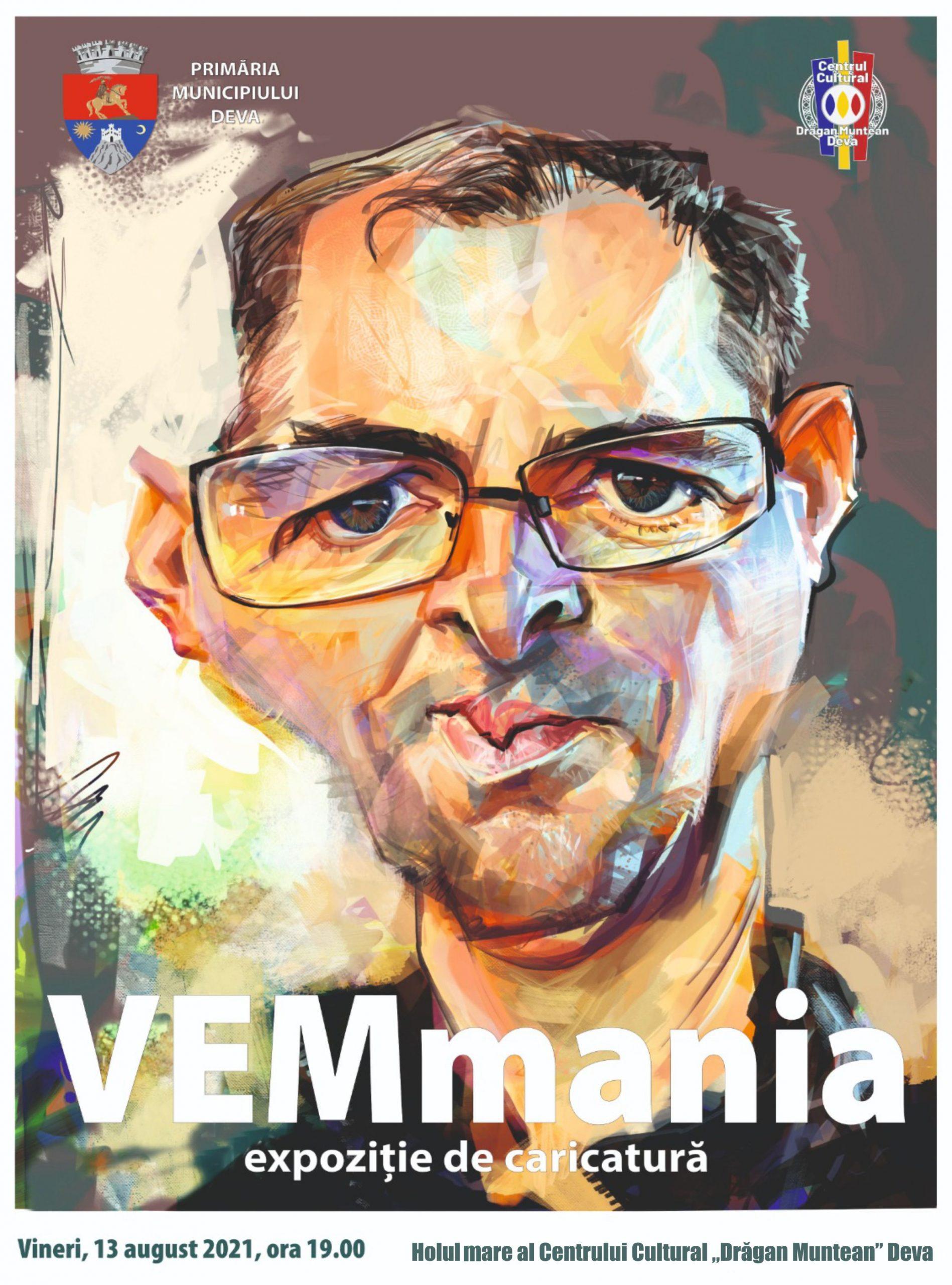 """Expoziție de caricatură """"VEMmania"""", la Deva. Intrarea este liberă"""