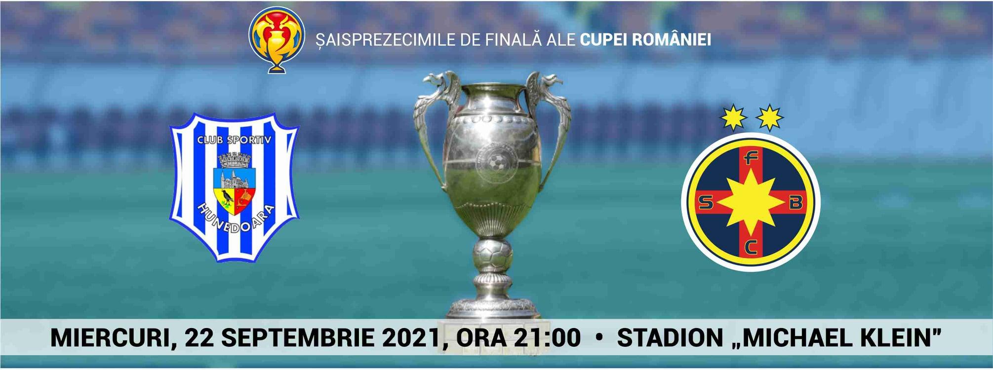 Meciul de fotbal dintre CS Hunedoara și FCSB, cel mai important eveniment fotbalistic al toamnei. Bani de la CJ și Primărie pentru nocturnă