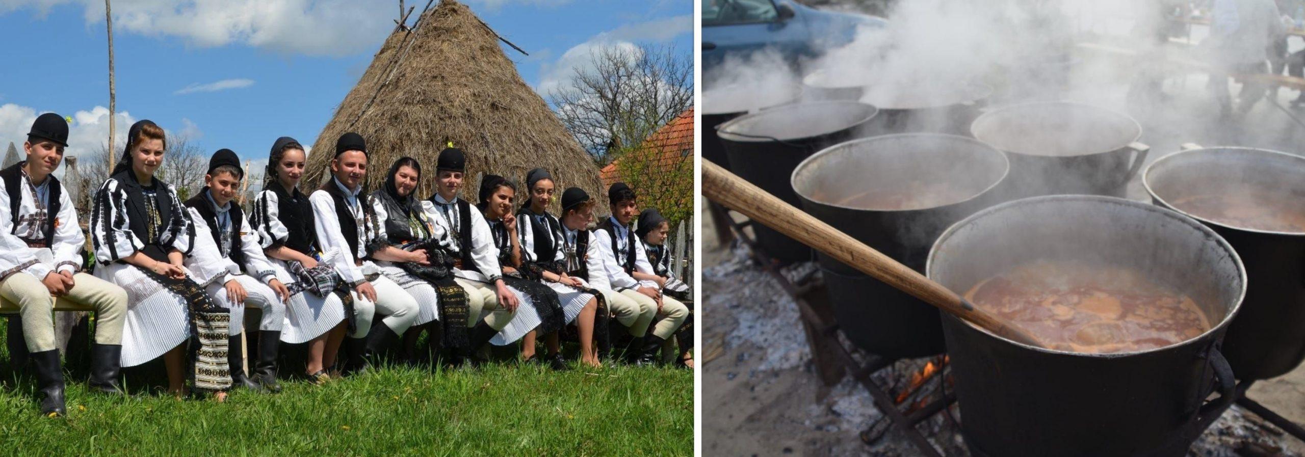 """""""Adunarea Momârlanilor"""", la Petroșani. Mâncare tradițională și spectacole de muzică populară"""