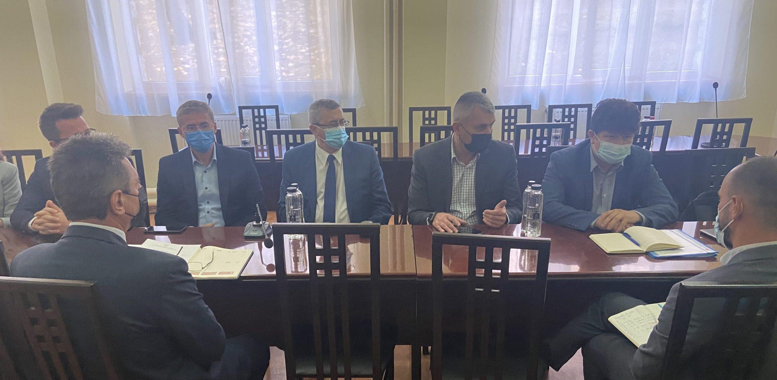 Universitatea din Petroșani, gazda unei întâlniri de lucru pe teme referitoare la Mecanismul pentru Tranziție Justă și constituirea ITI