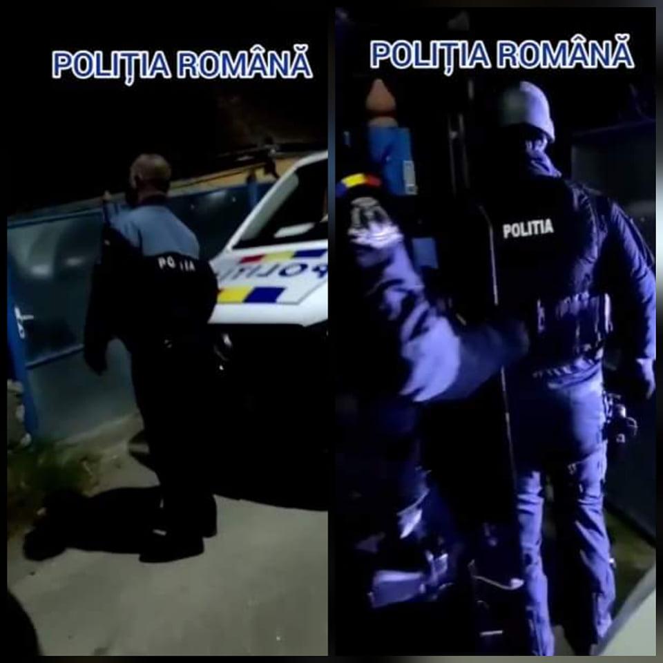 VIDEO: Percheziții la Geoagiu. Tânăr, arestat preventiv după ce a spart geamul mașinii unui bărbat, acesta rănindu-se