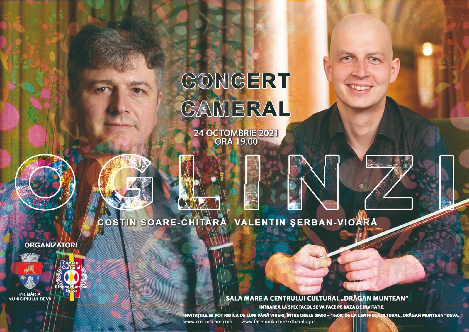 "Concert Cameral  ""OGLINZI"", la Deva"