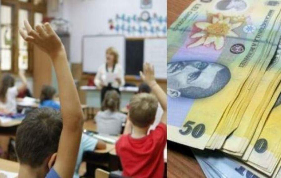 Crește cuantumul burselor școlare. Unele vor ajunge și la 500 de lei