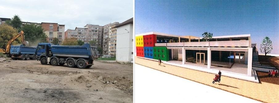 La Hunedoara, se construiește o nouă creșă. Startul lucrărilor a fost dat